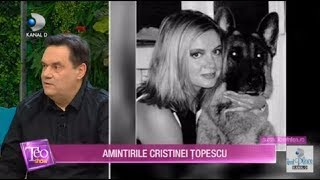 Teo Show (16.01.2020) - Amintirile Cristinei Topescu! Lucruri nestiute despre regretata jurnalista!