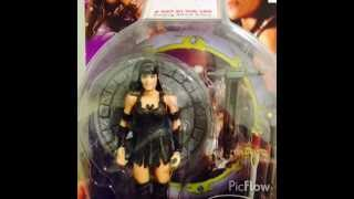 Hercules the Legendary Journey and Xena Warrior Princess action figures