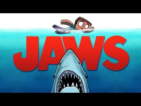 Jaws Movie Animated - The Shark Attack! (A Minecraft Animation)