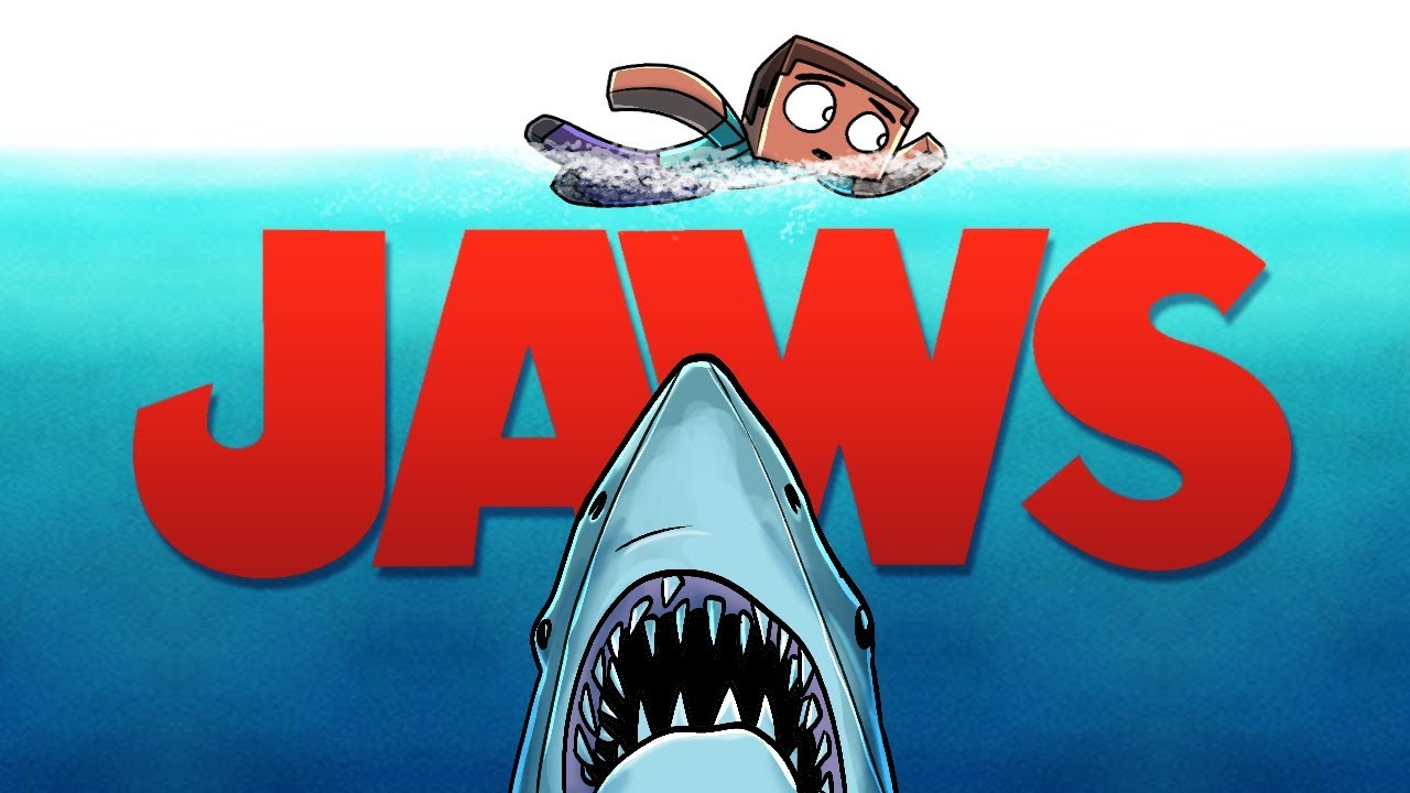 Download Jaws Movie Animated - The Shark Attack! (A Minecraft Animation)