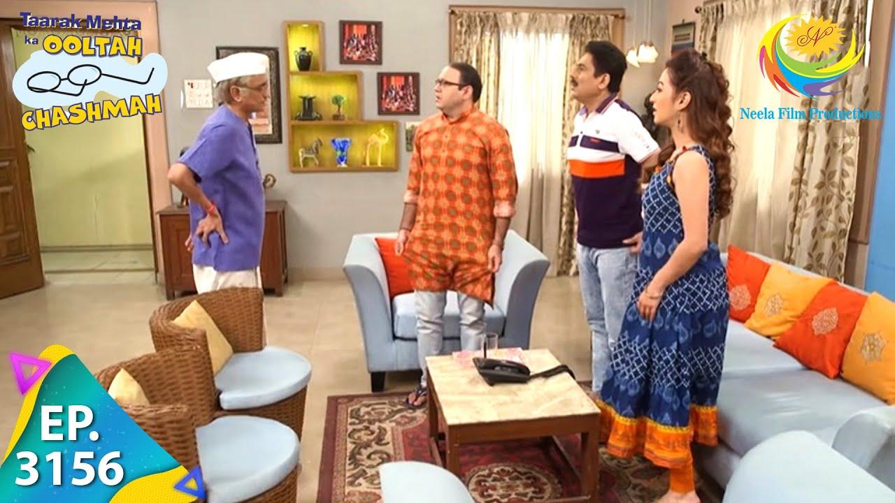 Download Taarak Mehta Ka Ooltah Chashmah - Ep 3156 - Full Episode - 30th April,2021