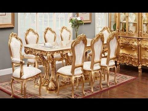 Italian Dining Table and Chairs Sets || Royal Models || All Latest Dining Table Collections