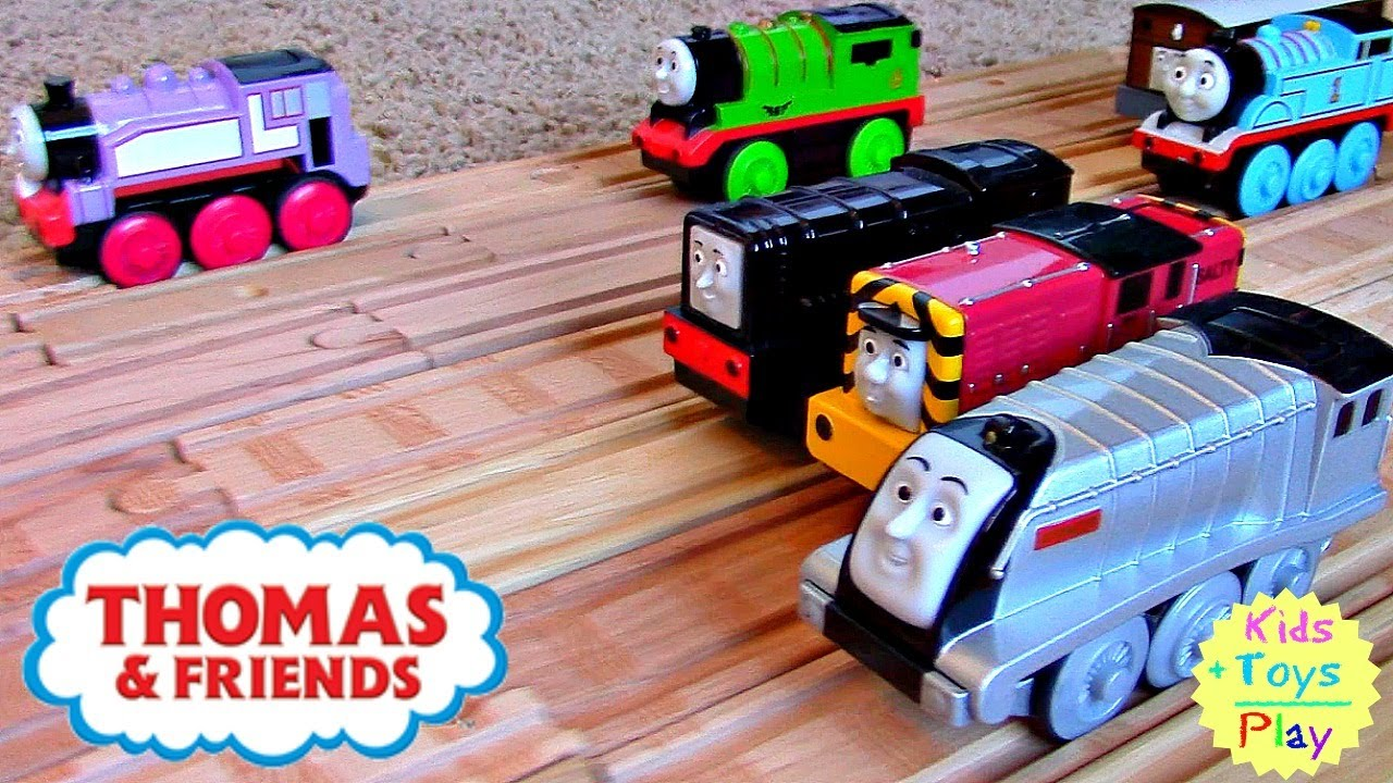 Thomas Wooden Railway Greatest Thomas The Train Motorized Railroad Competition With Diesel