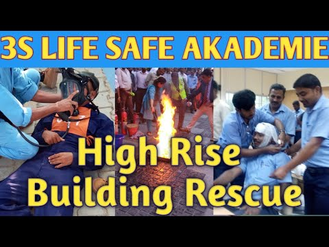 high-rise-building-rescue-training-by-3s-life-safe-akademie||-emergency-rescue-from-building||