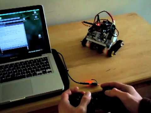 Use a PS3 Controller to Control an Arduino NXT Bot: 8 Steps