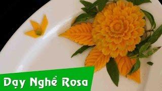 Tỉa rau củ: mẫu hoa Cẩm Chướng