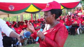 Joyce Laboso calls on women to unite and gear up for 2017