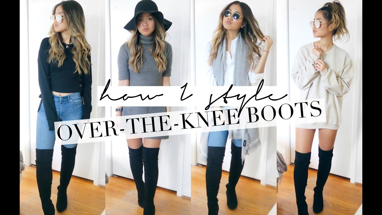 31627902b6b HOW I STYLE  OVER THE KNEE BOOTS!