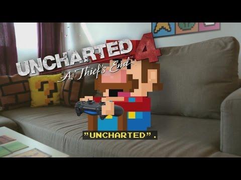 Mario plays Uncharted