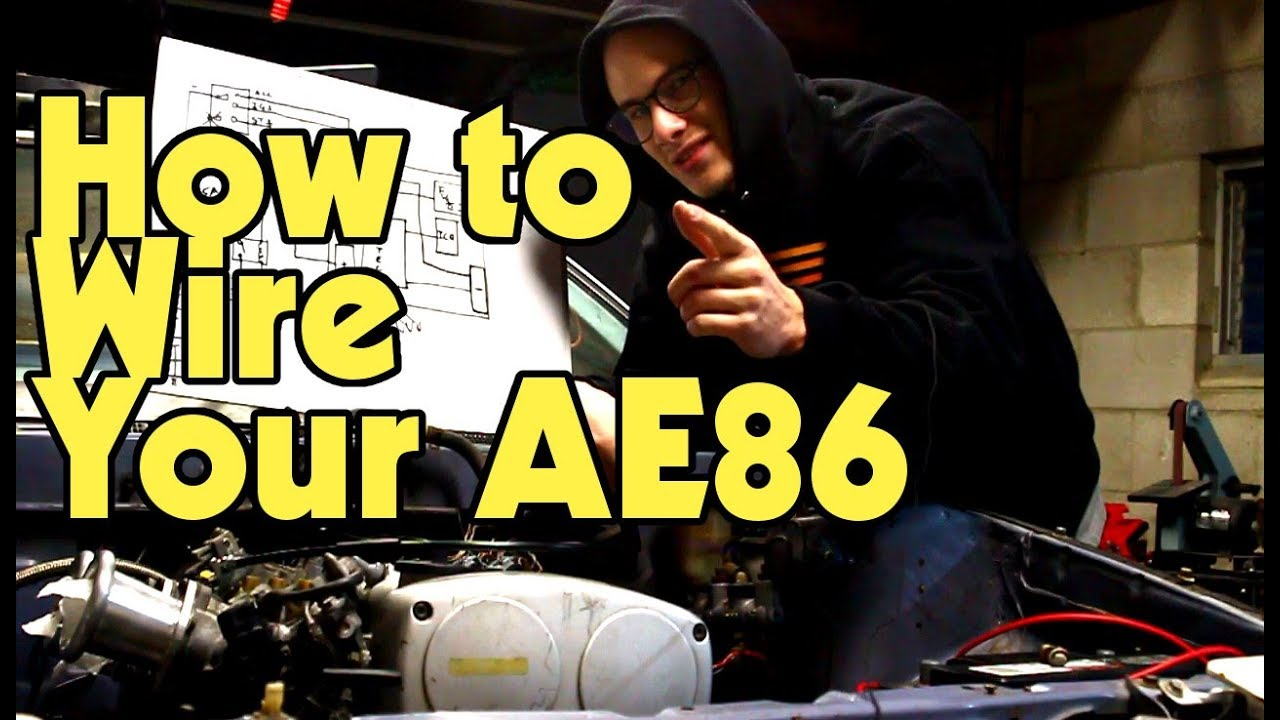 jdm ae86 wiring diagram 1999 ford f350 ignition fuse box diy relay panel project ep 4 youtubediy