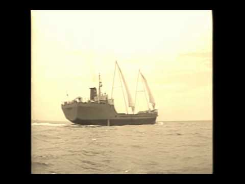Alternative (wind) energy at sea.wmv