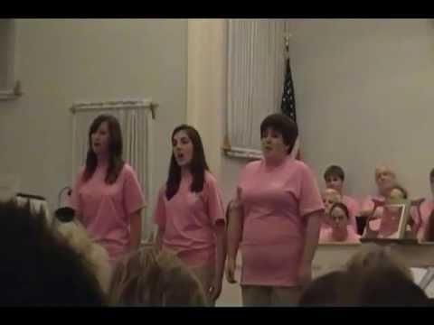 "Sarah, Juliana, and Melissa singing ""I Thank You God"""