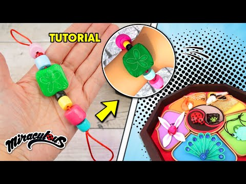 DIY / TUTORIAL Miraculous Ladybug: How to make the Lucky charm that Marinette gives to Adrien