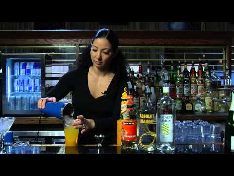 How to Make a Mango Tango Martini