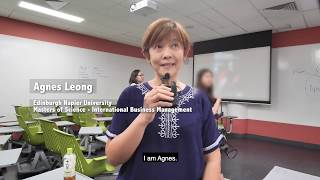 Agnes Leong, graduate of PSB Academy, testifies the usefulness of IDENTI3