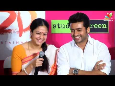 Surya Reveals To Media Why Jyothika Is Not On Twitter   | 36 Vayadhinile Press Interaction