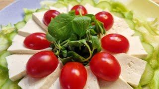 다이어트식단으로 좋은 샐러드!!/두부샐러드/손님초대요리…