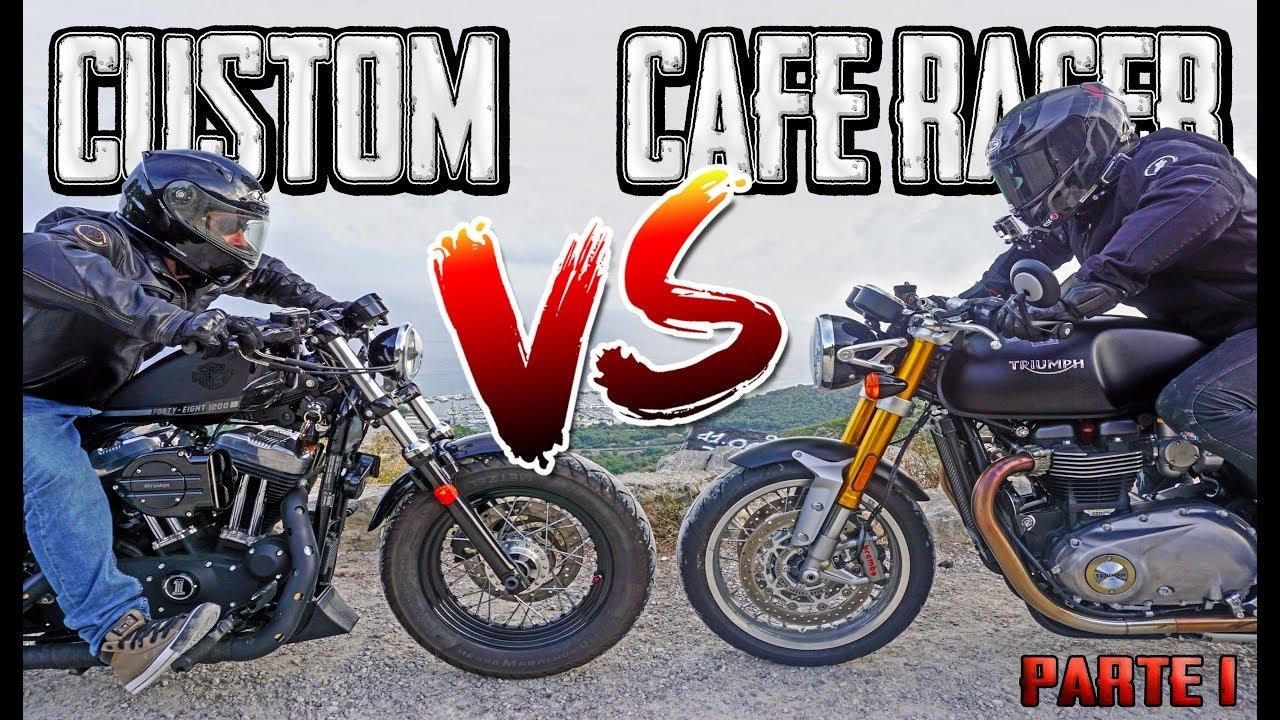 Moto Custom Vs Cafe Racer Motovlog En Castellano Parte 1