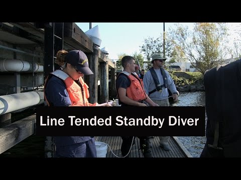 Line Tended Standby Diver - NOAA Procedures