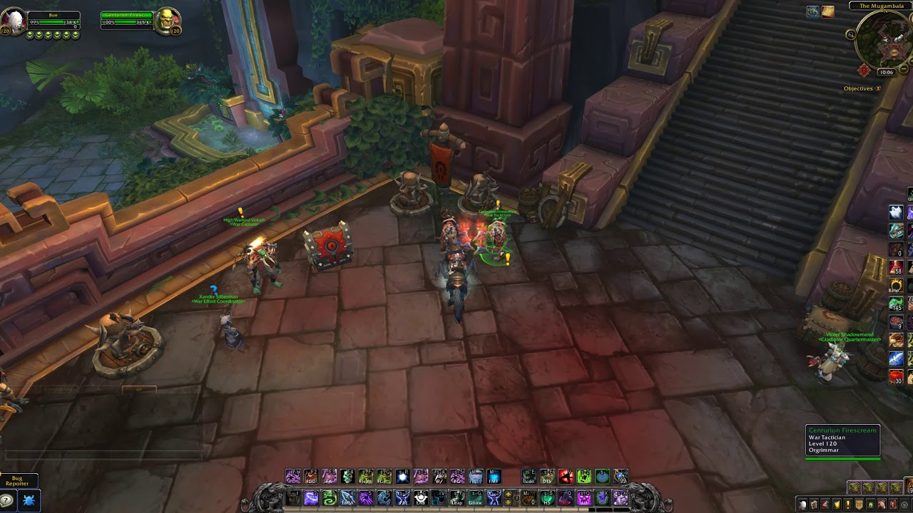 WoW BFA - From Where To get the PvP quests that awards Conquest Points Horde