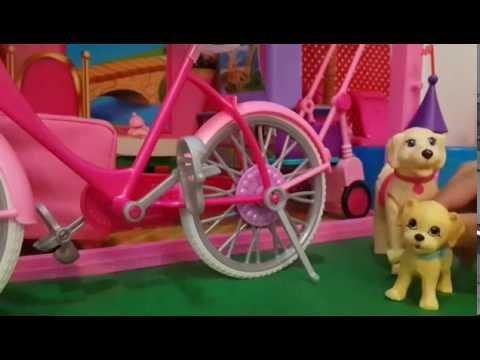 ละครบาร์บี้ (Barbie) ตอน บาร์บี้หัดขี่จักรยาน ❤️ Yada Ch ❤️