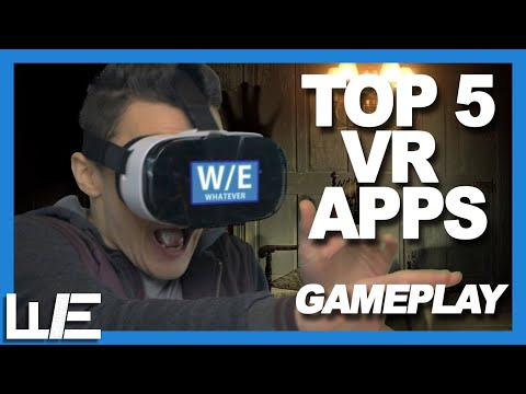 Top 5 VR Apps (GAMEPLAY)