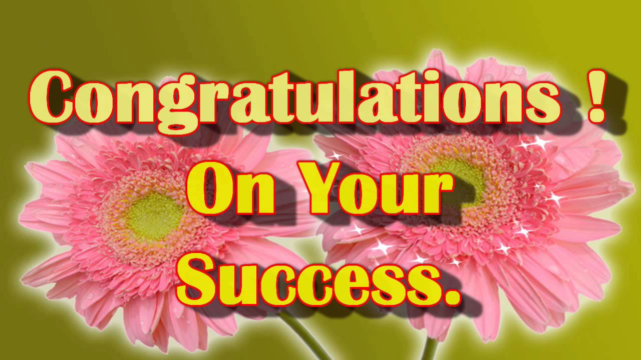 Congrats Greeting Card Ecard Congratulations Greetings YouTube – Best Wishes for Exams Cards