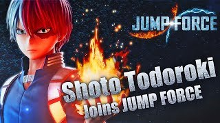 JUMP FORCE DLC - NEW Todoroki Gameplay Trailer & Nintendo Switch Season 2 DLC!