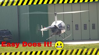 Troubled landing that had me worried at one point!