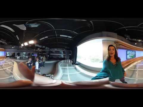 Renata Cordeiro Dá Um Giro Em 360 Graus Nos Estúdios Do FOX Sports E Mostra Para Você