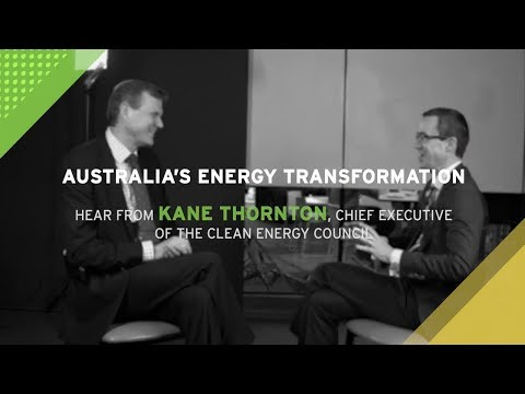 Dr Alex Wonhas Interviews Kane Thorton on the proposed National Energy Guarantee - Highlights