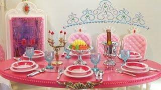 Мебель для куклы: Столовая принцессы