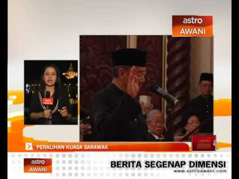 Peralihan kuasa Sarawak