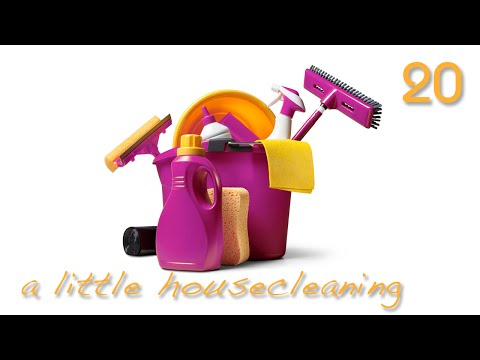 A Little House Cleaning