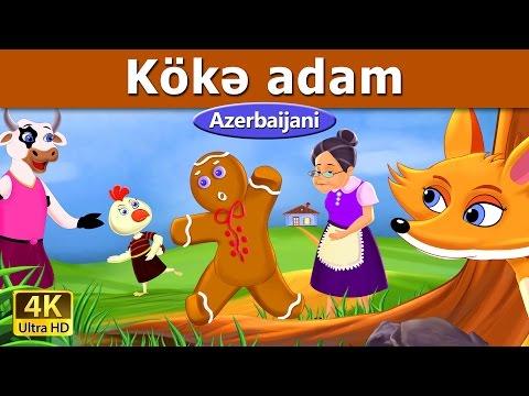 Kökə adam | Azerbaycan Nagillari | Nagillar | 4K UHD | Azerbaijani Fairy Tales