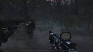 call of duty 4 modern warfare pc gt220 gameplay max settings