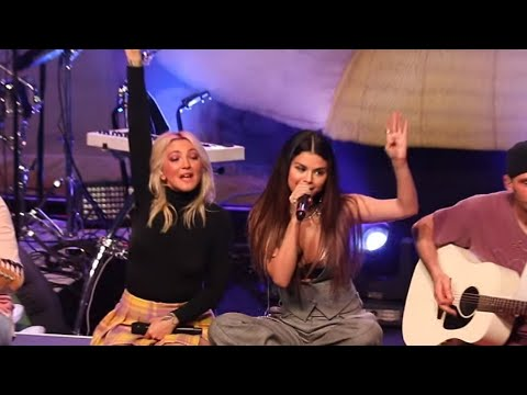 Inside Selena Gomez and Julia Michaels' Surprise Performance Before They Got Matching Tattoos