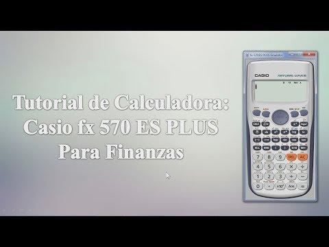 Tutorial calculadora Casio FX 570 ES Plus