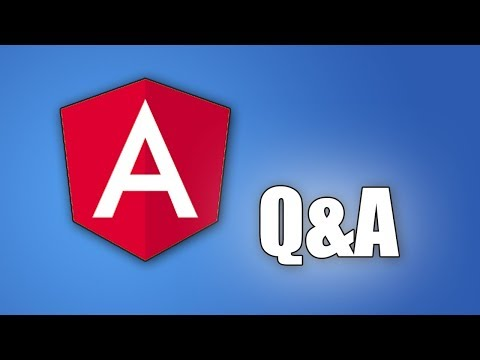 Angular - Common Questions (and Answers!)