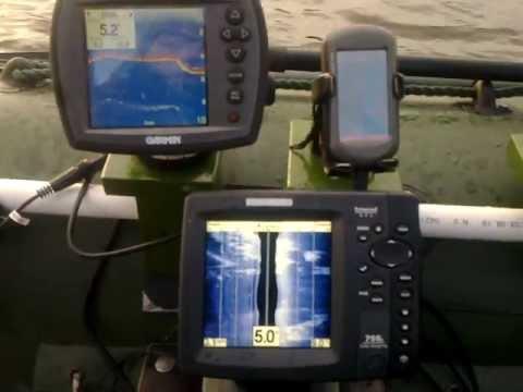 Сравнение эхолотов Humminbird 798ci HD SI и Garmin Fishfinder 250c 2
