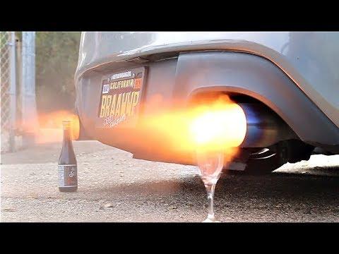 Crazy LOUD Exhaust Vs. Wine Glass Challenge!