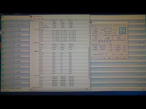 i7 8700k 5GHz @ 1 264v Prime 95 - YouTube