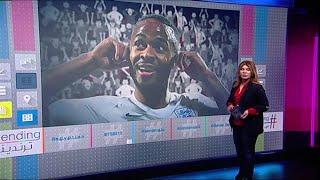 كيف رد نجم منتخب انجلترا رحيم سترلينغ على الهتافات العنصرية من جماهير منتخب الجبل الأسود؟