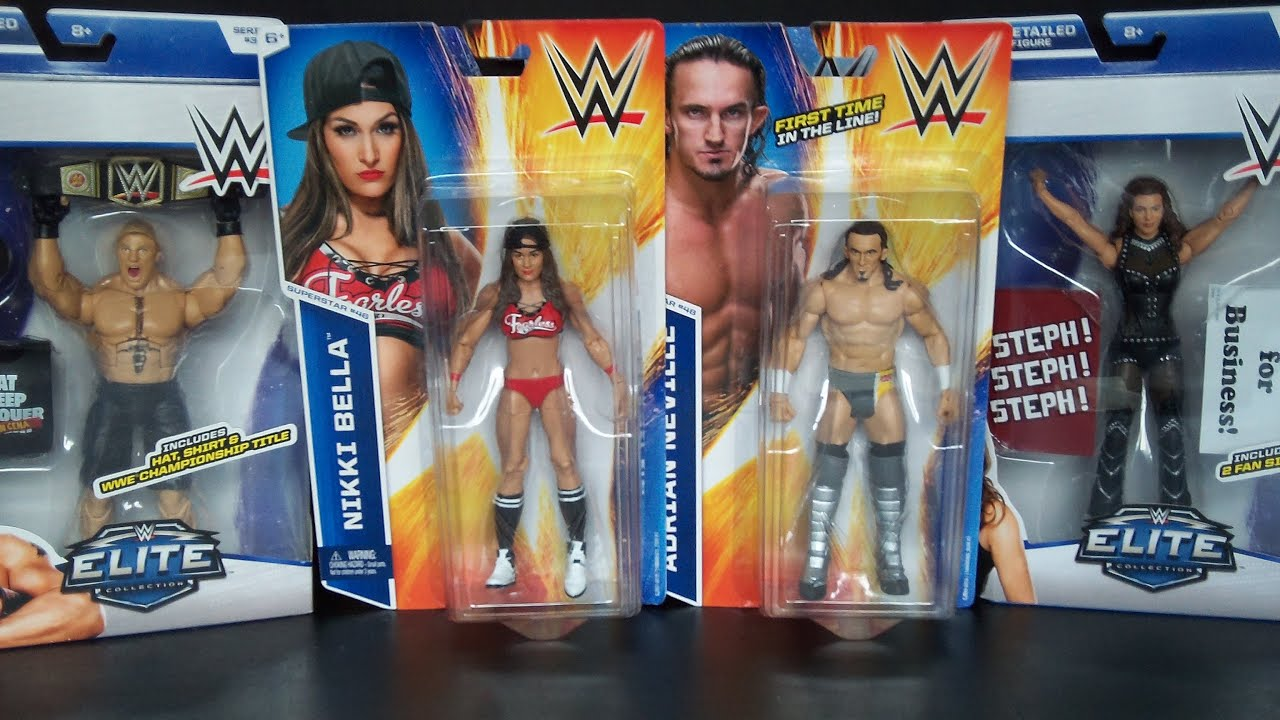 Walmart Wwe Toys : Wwe elite basic series and superstar t shirt