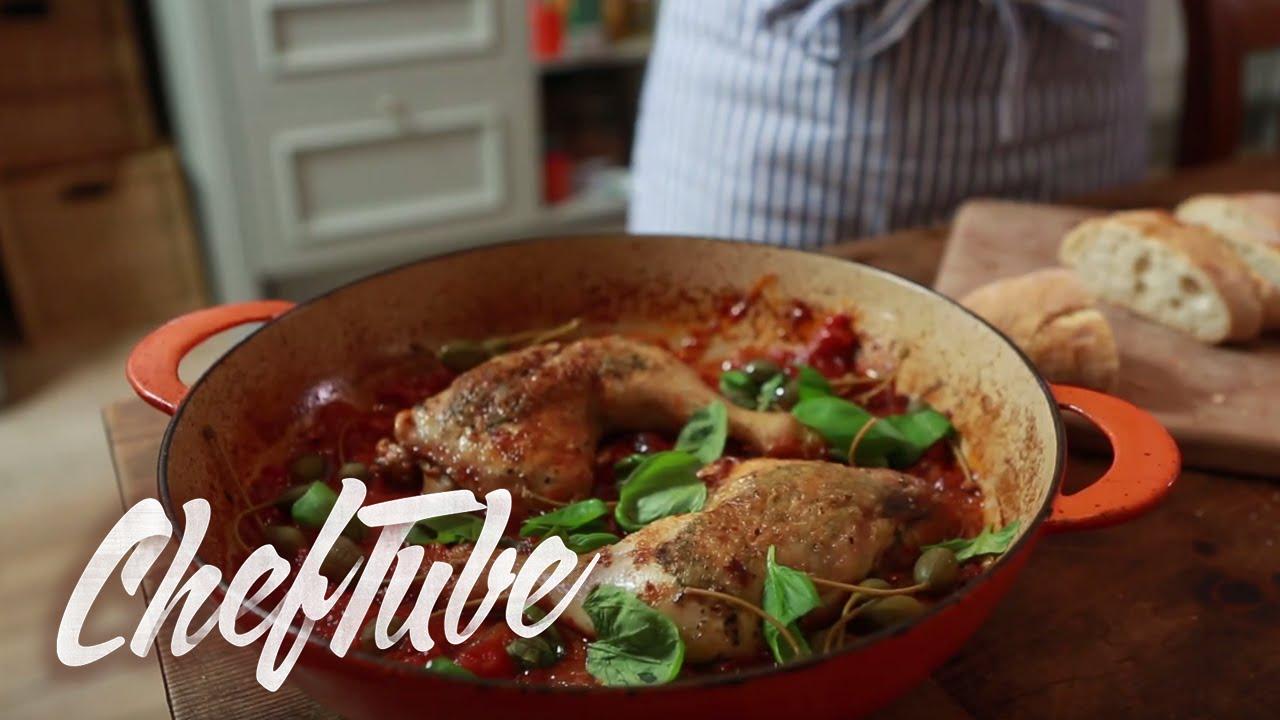 Comment faire une cuisse de poulet l 39 italienne recette - Comment cuisiner une cuisse de poulet ...