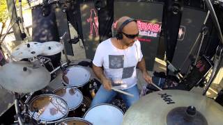 cover drums Shake your body ( Michael Jackson) and uptown funk (Bruno Mars). Christophe Alméras