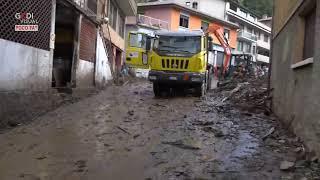 Maltempo, nel lecchese strade come fiumi e crolli: case e aziende evacuate