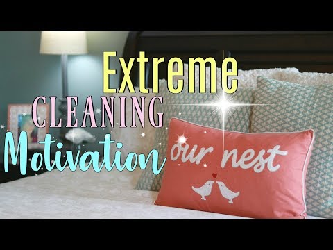 EXTREME CLEANING MOTIVATION ||Monday Cleaning Routine|| Stay at Home Mom|How I Get It All Done!!