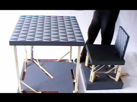 pop up furniture design product tank YouTube