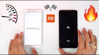 Mi A2 vs Redmi Note 5 Pro - Speedtest Comparison   MIUI 10 vs Android One 🔥